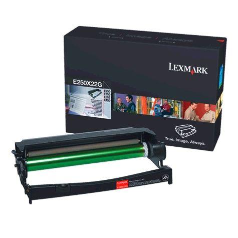 Lexmark E250X22G  tamburo di stampa nero, durata indicata 30.000 pagine