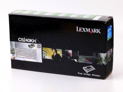 Lexmark C5240KH toner nero, durata 8.000 pagine