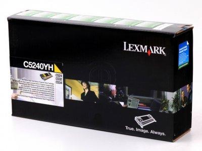 Lexmark C5340YX toner giallo, durata 7.000 pagine