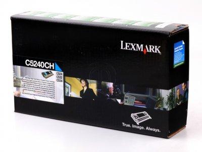 Lexmark C5240CH  toner cyano, durata 7.000 pagine
