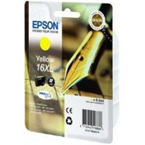 Epson C13T16344010  cartuccia giallo alta capacit�, durata indicata 450 pagine