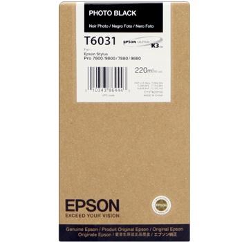 Epson T603100 Cartuccia nero-photo, capacit� 220ml