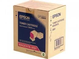 Epson C13S050591 toner magenta, durata 6.000 pagine