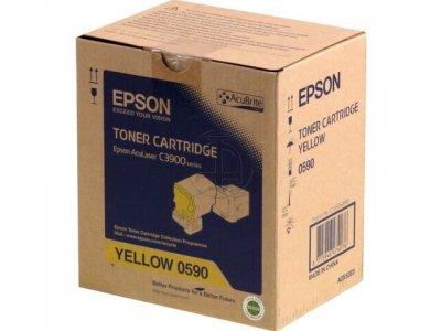 Epson C13S050590  toner giallo, durata 6.000 pagine