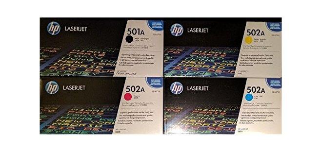 Hp Q647ADVP  Value Pack 4 colori originali, nero, cyano, magenta, giallo