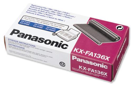 Panasonic KX-FA136X  nastro trasferimento termico(2PZ)