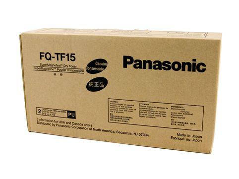 Panasonic FQ-TF15  toner originale 5.000p