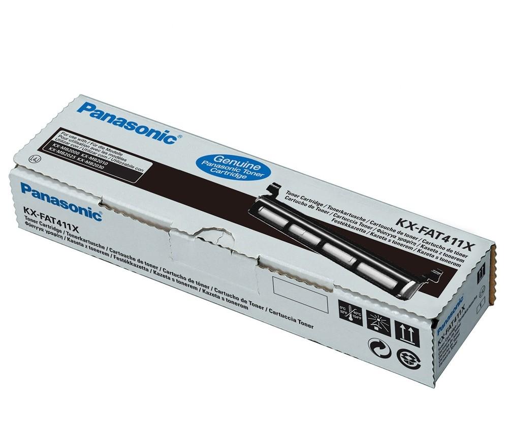 Panasonic KX-FAT411X  toner nero, durata 2.000 pagine