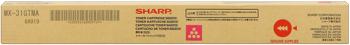 Sharp MX-31GTMA Toner originale magenta, durata 15.000 pagine