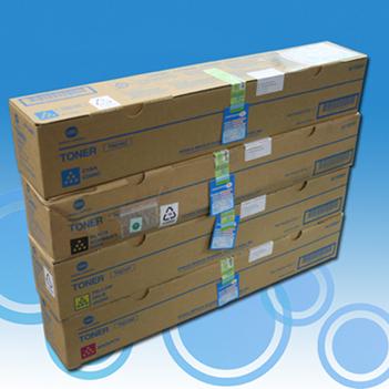konica Minolta tn-216rainbowkit multipack 4 colori: cyano, magenta, giallo, nero