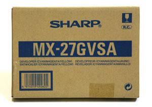 Sharp MX27GVSA Developer multicolore  (colore), 60000 pages.