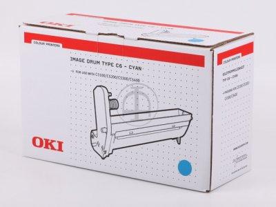 Oki 42126607 tamburo di stampa cyano 17.000p