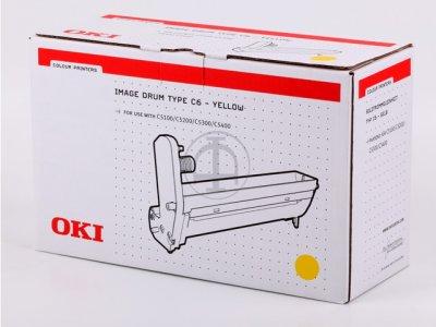 Oki 42126605 tamburo di stampa giallo 17.000p
