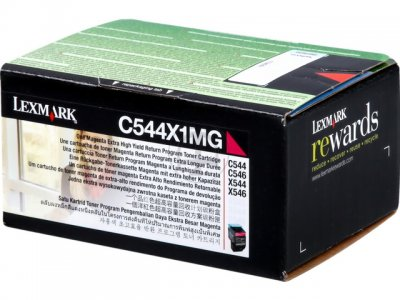 Lexmark C544X1MG  toner magenta, durata 4.000 pagine