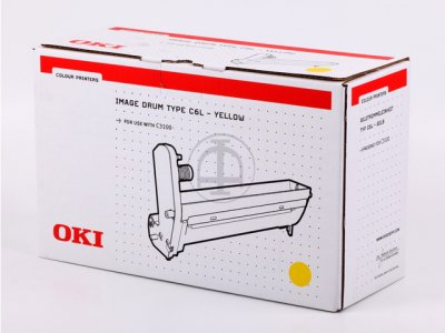 toner e cartucce - 42126641 tamburo originale giallo 14.000p