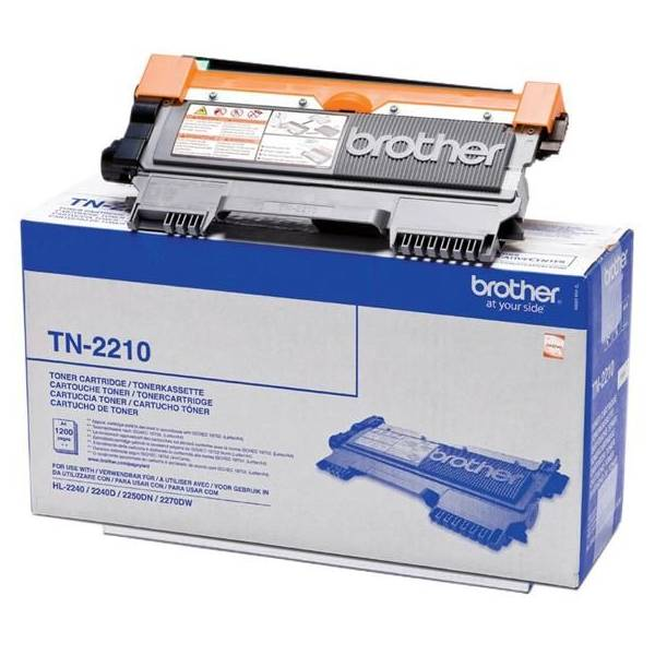 Brother TN-2210 toner originale, durata 1.200 pagine