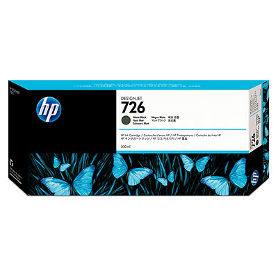 Hp ch575a inchiostro nero opaco 300ml