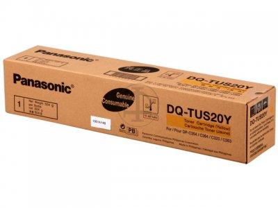 Panasonic dq-tus20y toner originale giallo 20.000p