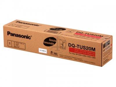 Panasonic dq-tus20m toner originale magenta 20.000p