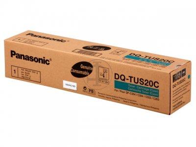 Panasonic dq-tus20c toner originale cyano, durata 20.000 pagine
