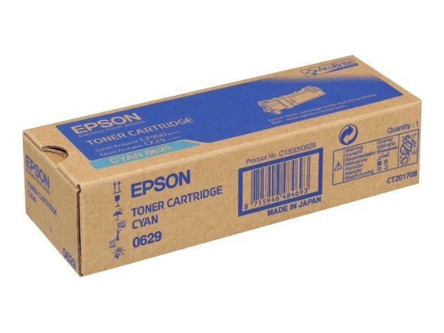 Epson C13S050629  toner cyano, durata 2.500 pagine