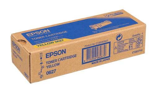 Epson C13S050627  toner giallo, durata 2.500 pagine