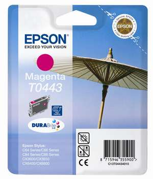 Epson t04434010  cartuccia magenta 450p