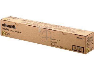 Olivetti B0855 toner giallo, durata 26.000 pagine