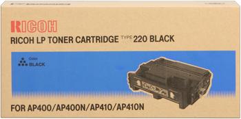 Lanier 400943 toner originale nero, durata 15.000 pagine