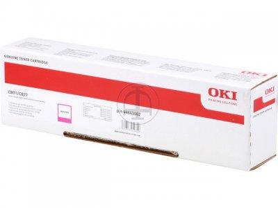 toner e cartucce - 44643002 toner magenta, durata indicata 7.300 pagine