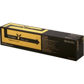 kyocera TK-8505Y  toner giallo, durata indicata 20.000 pagine