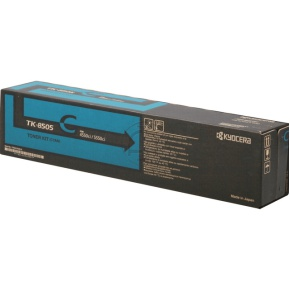 kyocera TK-8505C  toner cyano, durata indicata 20.000 pagine