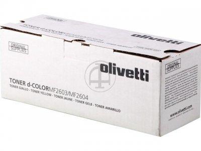 Olivetti B0949  toner giallo, durata indicata 5.000 pagine