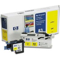 Hp C4963A  testina di stampa giallo uv