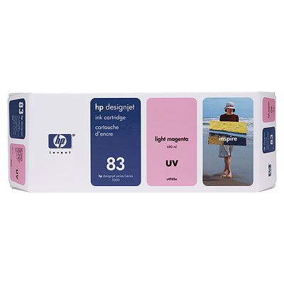 Hp C4945A  cartuccia originale magenta-chiara 680ml, UV