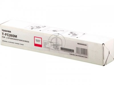 Toshiba T-FC26SM toner magenta, durata  6.000 pagine