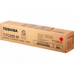 Toshiba T-FC25EM toner magenta, capacit�  26.800 pagine