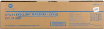 konica Minolta dr-311c Tamburo di stampa colore, cyano-magenta-giallo, confezione 1 pezzo, durata 75.000p