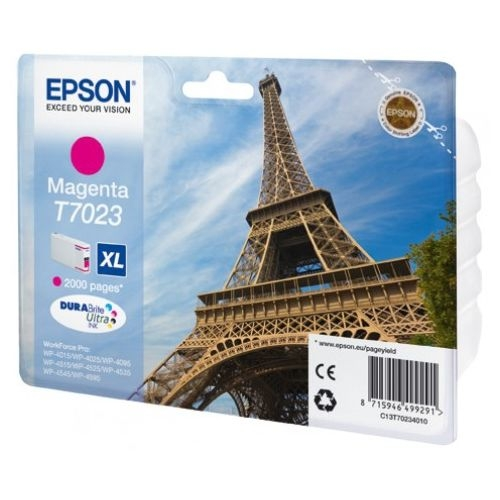 Epson C13T70234010  cartuccia magenta xl, durata 2.000 pagine