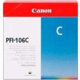 toner e cartucce - PFI-106C Cartuccia cyano capacità 130ml