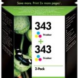 toner e cartucce - CB332EE confezione multi-colore 2 pezzi * C8766EE(HP 343)