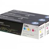 toner e cartucce - CF341A  Value Pack, confezione 3 colori, cyano, magenta, giallo