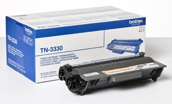 Brother tn-3330 toner nero, durata 3.000 pagine