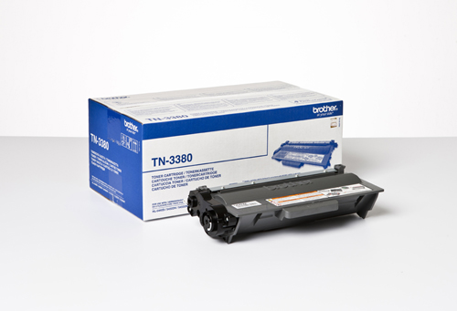 Brother tn-3380 toner nero, durata  8.000 pagine