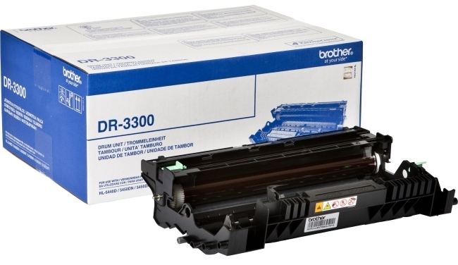 Brother dr-3300 tamburo di stampa, durata 30.000 pagine