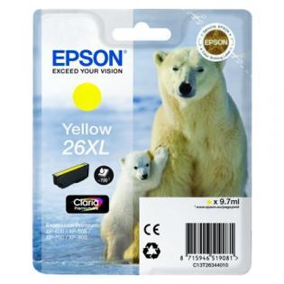 Epson C13T26344010 cartuccia giallo, durata 700 pagine