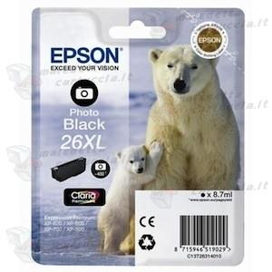 Epson C13T26314010 cartuccia nero foto, durata 400 pagine
