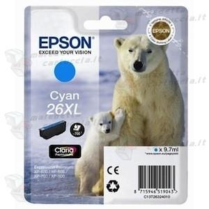 Epson C13T26324010 cartuccia cyano, durata 700 pagine