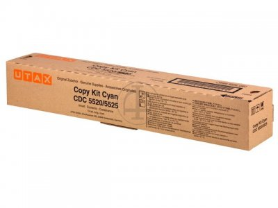 Utax-Triumph Adler 652511011 toner cyano, durata 6.000 pagine