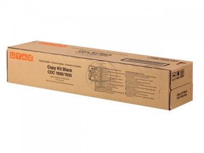 Utax-Triumph Adler 653010010 toner originale nero, durata 25.000 pagine